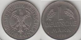 Germania 1 Mark 1992 A KM#110 - Used - [ 7] 1949-… : FRG - Fed. Rep. Germany