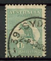 Australia 1915 Mi. 47 Usato 100% 1 Sh, Canguri - 1913-48 Kangaroos