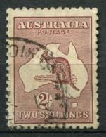 Australia 1915 Mi. 48 Usato 80% 2 Sh, Canguri - 1913-48 Kangaroos