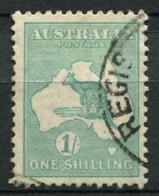 Australia 1929 Mi. 84 Usato 100% 1 Sh, Canguri - 1913-48 Kangaroos