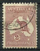 Australia 1929 Mi. 85 Usato 100% 2 Sh, Canguri - 1913-48 Kangaroos