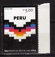Peru Perou 2004 The 50th Anniversary Of Art Museum, Lima. MNH - Perù