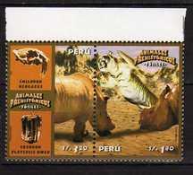 Peru Perou 2004 Pre-historic Animals. MNH - Peru