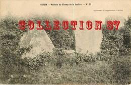 RARE ☺♦♦ MENHIRS Du CHAMP De La JUSTICE à AUTUN - MEGALITHE < PIERRE MEGALITHIQUE - Dolmen & Menhirs