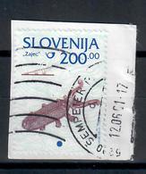 SLOVENIA  1998 - SERIE ORDINARIA  - USATO SU FRAMMENTO - Slovenia