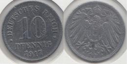Germania Empire 10 Pfennig 1917 Km#26 - Used - 10 Pfennig