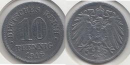 Germania Empire 10 Pfennig 1918 Km#26 - Used - 10 Pfennig