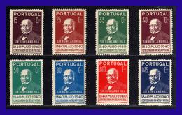 1940 - Portugal - Sc. 595 / 602 - MNH - PO- 022 - Palestina