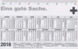 BRD Taschenkalender 2016 Deutsches Rotes Kreuz Mannheim Personalisiert - Kalender