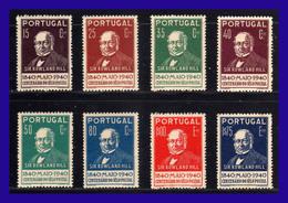 1940 - Portugal - Sc. 595 / 602 - MNH - PO- 023 - Palestina