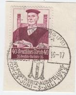 Deutsches Reich ,  40 Pfennig Stände , Briefstück Mit Sonderstempel - Deutschland