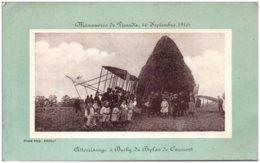 76 BUCHY - Manoeuvres De Picardie, 17 Septembre 1910 - Départ De Buchy Du Biplan De Caumont - Buchy