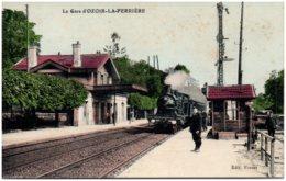 77 La Gare D'OZOIR-la-FERRIERE - Autres Communes