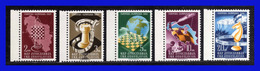 1950 - Yugoslavia - Sc. 300 - 304 - MNH - YU-  091 - Palestina