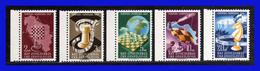 1950 - Yugoslavia - Sc. 300 - 304 - MNH - YU-  091 - 1945-1992 Repubblica Socialista Federale Di Jugoslavia