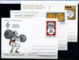 E08142)Olympia 84 Polen 3 Olympia-Sonder-GA - Sommer 1984: Los Angeles