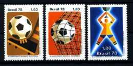 E08392)Fussball-WM 1978 Brasilien 1643/5** - Fußball-Weltmeisterschaft