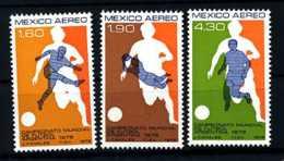 E08429)Fussball-WM 1978 Mexiko 1588/90** - 1978 – Argentine
