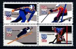 E08757)Olympia 80 USA 1411/4 F ZDR** - Winter 1980: Lake Placid