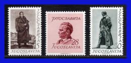 1952 - Yugoslavia - Sc. 355 - 357 - MNH - YU- 094 - Palestina