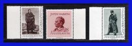 1952 - Yugoslavia - Sc. 355 - 357 - BH - MNH - YU- 095 - Palestina