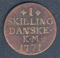 Dänemark, 1 Skilling 1771 - Denmark