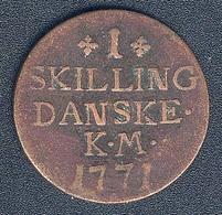 Dänemark, 1 Skilling 1771 - Danimarca