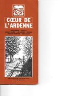 Bastogne Gouvy Houffalize La Roche Ortho;  Boven-Ourthe; Vielsalm ; Coeur De L'Ardenne - Geographie