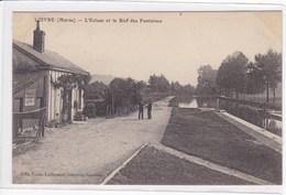 51 LOIVRE L'écluse Et Le Bief Des Fontaines , Maison D'éclusier ,navigation Fluviale , Canaux - France