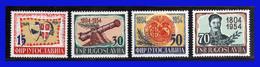 1954 - Yugoslavia - Sc. 411 / 414 - MNH- YU- 093 - Palestina
