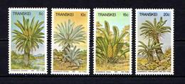 TRANSKEI    1980    CYCADS    Set  Of  4    MH - Transkei