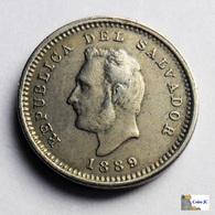 El Salvador - 1 Centavo - 1889 - Salvador