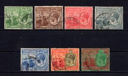 TRINIDAD  AND  TOBAGO    1922    Short  Set  Of  7    USED - Trinidad & Tobago (...-1961)