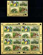 E11074)Gefaehrdete Pflanzen, UNO Wien 205/8 ZDR-Bogen + VB** - Pflanzen Und Botanik