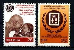 E11167)Jahr Des Kindes, Indien 784/5** - Kind & Jugend