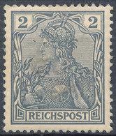 Stamp Germany 190 Reichpost 2pf MH - Deutschland