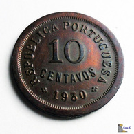 Cabo Verde - 10 Centavos - 1930 - Cape Verde