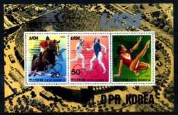 E13523)Olympia 84, Nordkorea Bl 163** - Estate 1984: Los Angeles