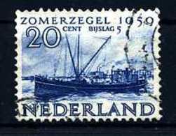 E14382)Schiffe Niederlande 557 Gest. - Schiffe