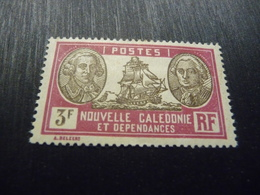 TIMBRE   NOUVELLE  CALÉDONIE   N  158         COTE  0,80  EUROS   NEUF  TRACE  CHARNIÈRE - New Caledonia