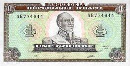 Haiti 1 Gourde 1989 Pick 253 UNC - Haiti