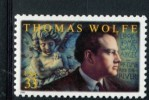 209515228 USA 2000 ** MNH SCOTT 3444 LITERARY ARTS THOMAS WOLFE - Unused Stamps