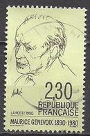 Frankreich  (1990)  Mi.Nr.  2807  Gest. / Used  (3ad57) - Frankreich