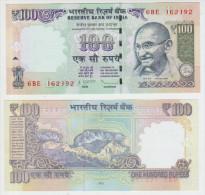 India 100 Rupees 2012 Pick  UNC - Inde