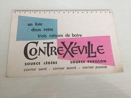 Buvard Ancien CONTREXÉVILLE SANTÉ BEAUTÉ JEUNESSE - Parfums & Beauté