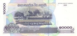 Cambodia P.56b 10000 Riels 2005  Unc - Cambogia