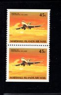 689209789 PALAU 1989  POSTFRIS MINT NEVER HINGED POSTFRISCH EINWANDFREI SCOTT  C20 AIRPLANE 2 BOOKLET STAMPS - Palau