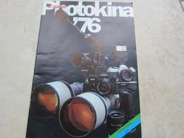 Catalogue Publicité CANON Photokina Edition Française 1976 - Matériel & Accessoires