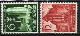 Deutsches Reich, 1939, Mi 714-715 **, Danzig Ist Deutsch [241218StkKV] - Deutschland