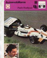 Pedro Rodriguez  -  Pilote De Course F1 -  B.R.M.   -  Fiche Automobilisme - Grand Prix / F1